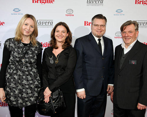 Julia Libuda (MEC Global), Joyce Mehnke (Mediaplus Hamburg), Thorsten Lühring (Mediaplus Hamburg), Holger Nickelé