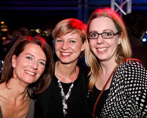 Iris Müller, Chris Wegener (Omnicom), Esther Henschke (BDF)