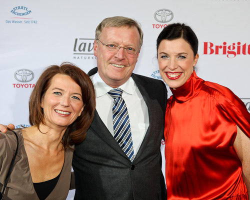 Iris Müller, Georg Lutter (BDF), Anja Dressler