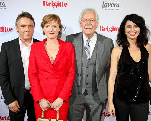 Andreas Lebert, Nina Petri, Carlo von Tiedemann (Moderator), Brigitte Huber