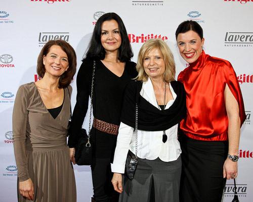 Iris Müller, Konstanze Braun (Kanebo), Sabine Postelt (Schauspielerin), Anja Dressler
