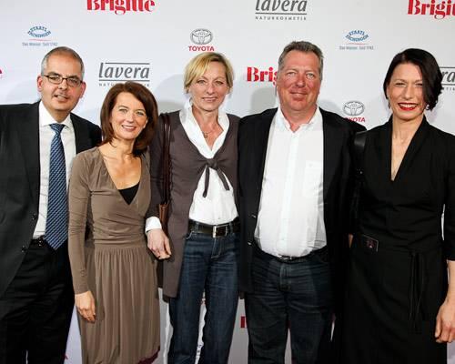 Felix Friedlaender, Iris Müller, Meike Becker (Frau von Uwe Becker), Uwe Becker (Unilever), Andrea Freese (Sales Manager VB Nord)