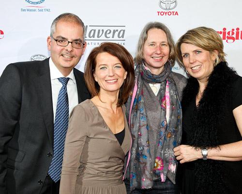 Felix Friedlaender, Iris Müller, Ulrike Bärsch (BDF), Antje Dittrich