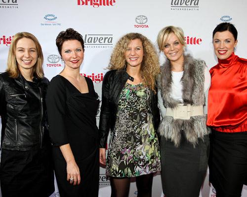 Anne-Kathrin Rinkleff (Gerry Weber), Claudia Albers (Sales Manager VB Nord), Corinna Korte (Gerry Weber), Katharina Prüfer (Gerry Weber), Anja Dressler (Anzeigenleiterin BRIGITTE)