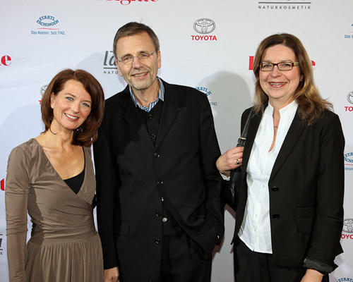 Iris Müller, Wolfgang Meier (Media Plan) und Frau