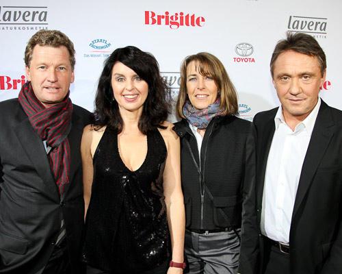 Dr. Bernd Buchholz, Brigitte Huber, Inga Jensen-Buchholz, Andreas Lebert