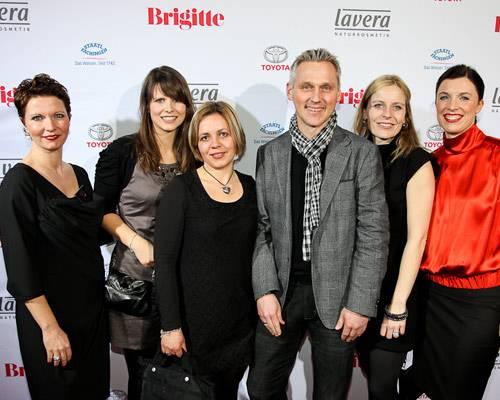 Claudia Albers, Kerstin Ochmann (Brax Leineweber), Frau Freyberg (Begleitung), Marc Freyberg (Brax Leineweber), Frauke Spilker (Brax Leineweber), Anja Dressler