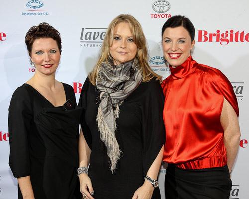 Claudia Albers, Tanja Lübbers (Apart International), Anja Dressler