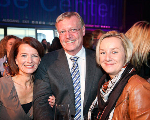 Iris Müller, Georg Lutter (BDF), Ilka Schütte (BDF)