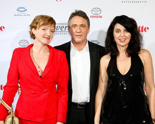 Nina Petri (Schauspielerin), Andreas Lebert, Brigitte Huber