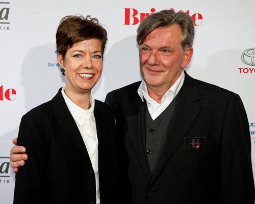 Heide Schröder (Media Plan), Holger Nickelé (Sales Manager Verlagsbüro Nord G + J)