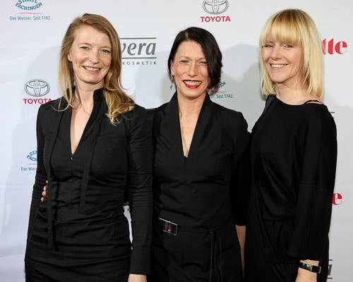 Christine Lüdemann (BDF), Andrea Freese, Godja Sönnichsen (Nordmilch)