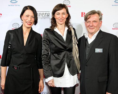 Andrea Freese, Nicole Bidlingmaier (Pilot Media), Holger Nickelé