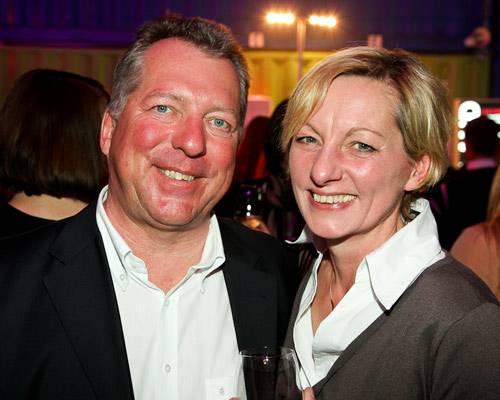 Uwe Becker (Unilever) und Frau