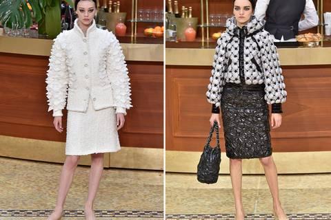 So schick darf Alltag sein: Karl Lagerfeld zeigt seine neue Chanel-Kollektion