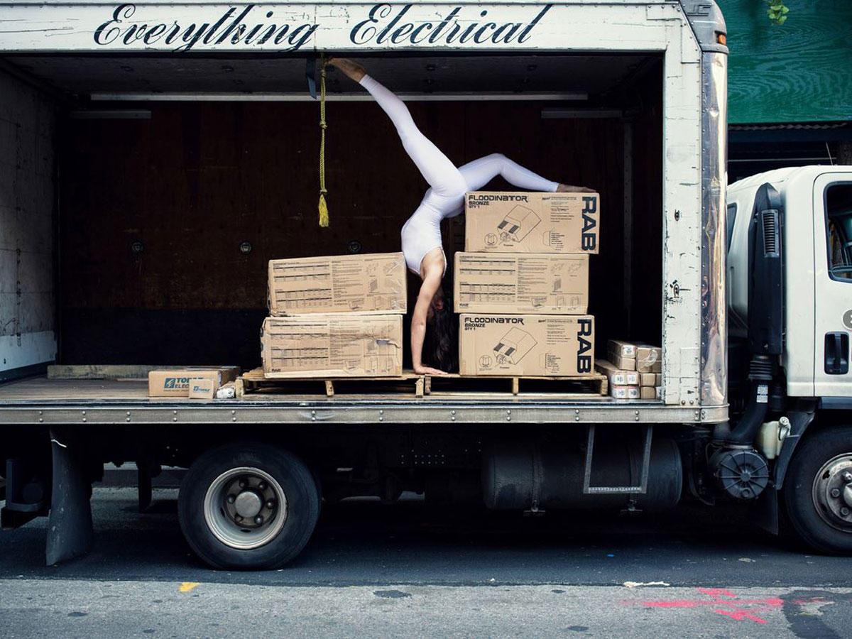 """Mit """"Urban Yoga"""" erleben wir die Stadt mit allen Sinnen!"""