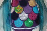Der kunterbunte Regenbogenfisch als tolles Kinderkostüm zum Karneval