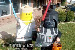 Kinderkostüm nach dem Film Lego Star Wars