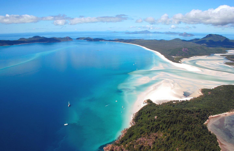 Die schönsten Strände der Welt: 1) Whitehaven Beach, Australien