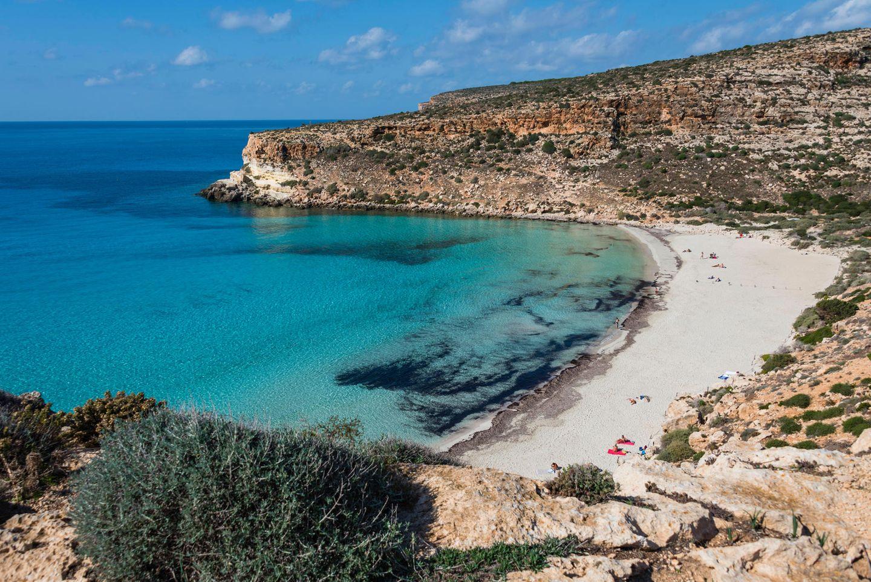 Die schönsten Strände der Welt: 8) Spiaggia dei Conigli, Italien