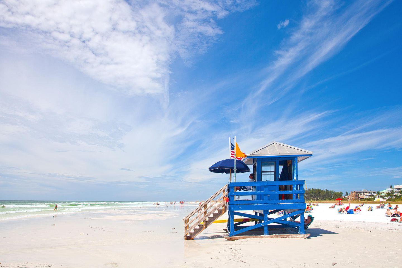 Die schönsten Strände der Welt: Siesta Beach, Florida