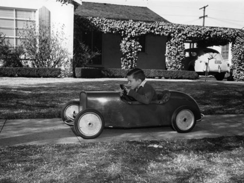 1953: Rennfahrer
