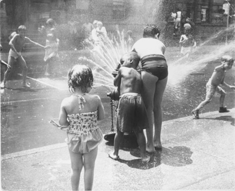 1970: Wasser marsch!