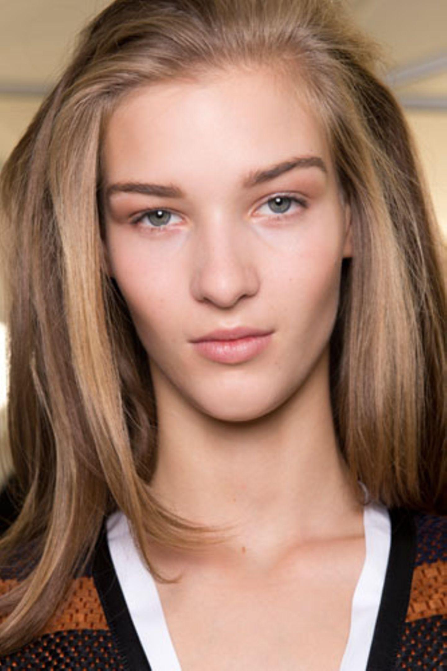 Wie wirkt Make-up: Nude Look