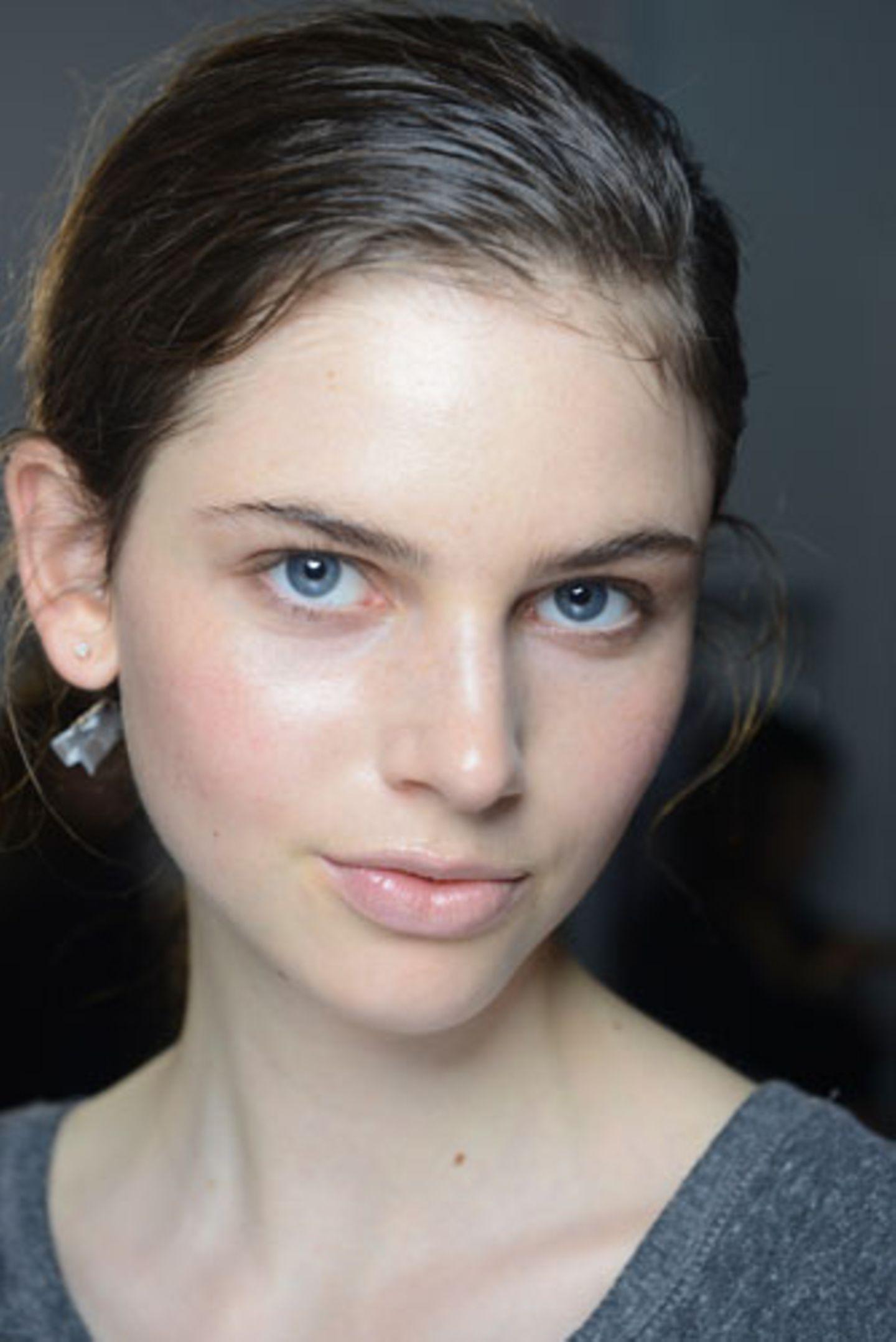 Wie wirkt Make-up: Glossy Lips