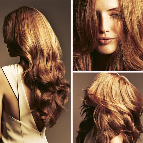 1. Softe Wellen: Dazu ein Hitze-Stylingspray ins Haar geben und trocknen lassen. So behalten die Wellen anschließend ihre Sprungkraft. Strähnen vorn im letzten Drittel mit dem Lockenstab oder mit Föhn und Rundbürste aus dem Gesicht stylen, die Bürste/den Stab dabei nach hinten ziehen. Auch den Rest des Haares ab Schulterhöhe in Schwung bringen - Bürste/Stab dabei senkrecht halten.    2. Glanz und Struktur geben: Das Haar nicht mehr kämmen, sondern eine erbsengroße Menge Stylingcreme in den Handflächen verteilen, ordnend durchs Haar streichen. Einzelne Strähnen um den Finger wickeln und wegspringen lassen.