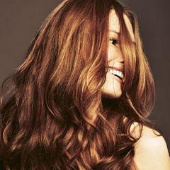 Stufenschnitt für lange Haare