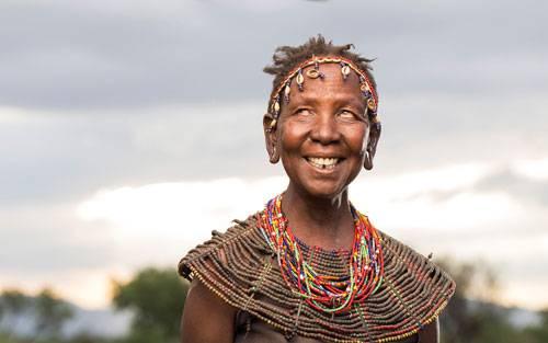 """Sony World Photography Awards 2015: Was für ein Lächeln! Kenianische Frau in der Kategorie """"Smile""""."""