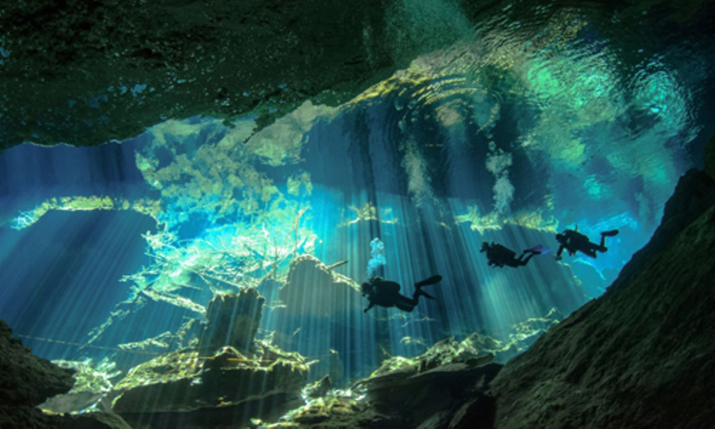 """Wie eine Expedition zu einem fremden Planeten: """"Divers in the Light"""" von Elaine White. www.upylondon.com"""
