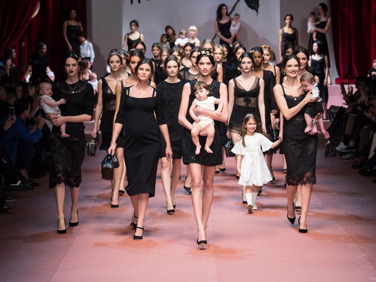 Mamma Mia! Diese Show von Dolce & Gabbana werden wir so schnell nicht vergessen