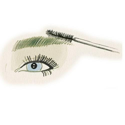 1. Widerspenstige Augenbrauen zähmen