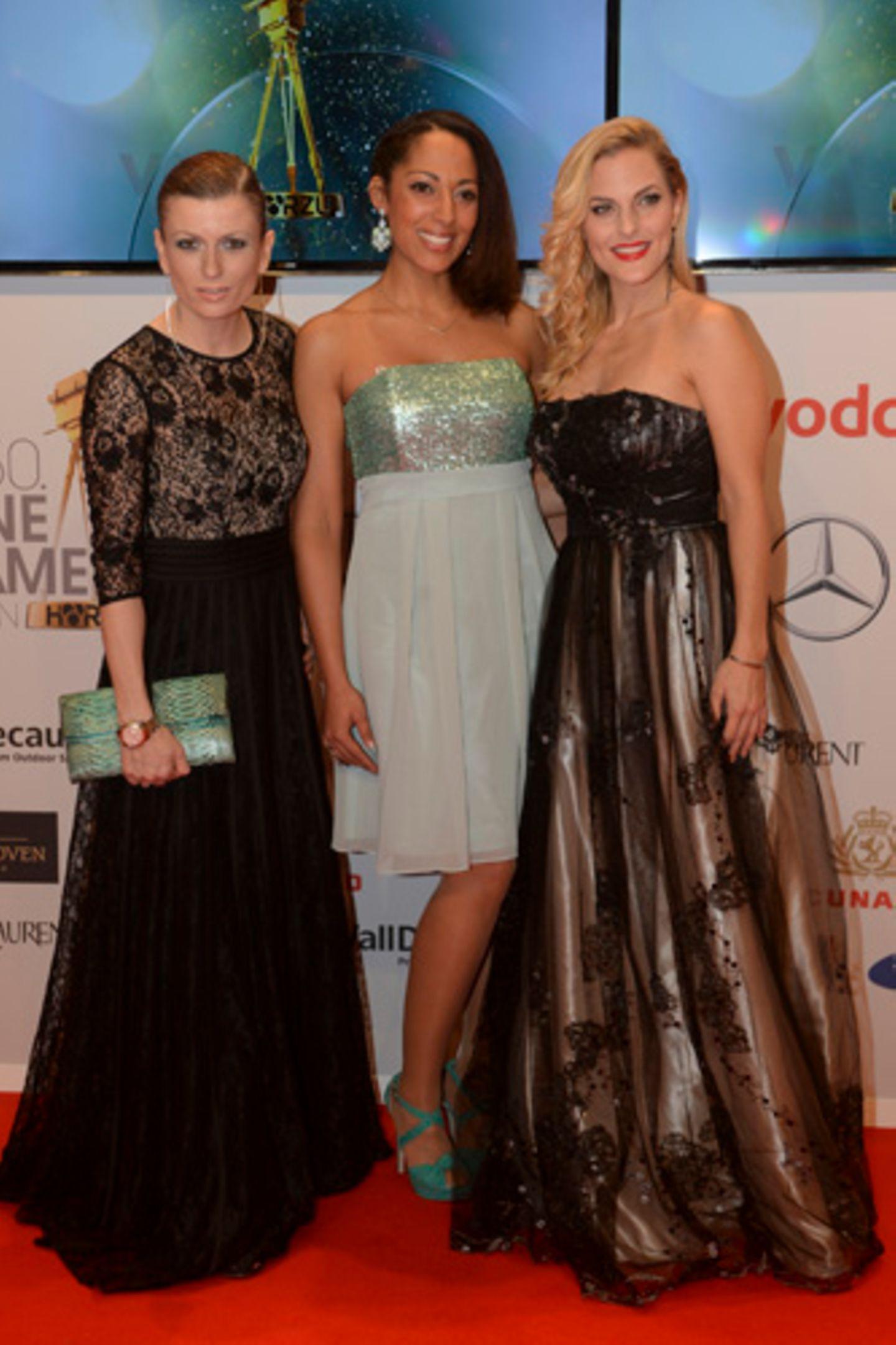 Goldene Kamera: Die No Angels Lucy, Jessica & Sandy