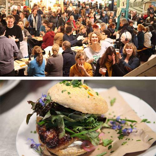 4. Streetfood in der Markthalle Neun