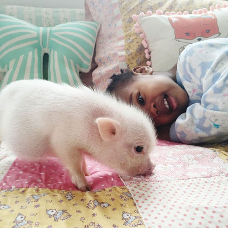 Hier begann die große Freundschaft zwischen Libby und Pearl ...