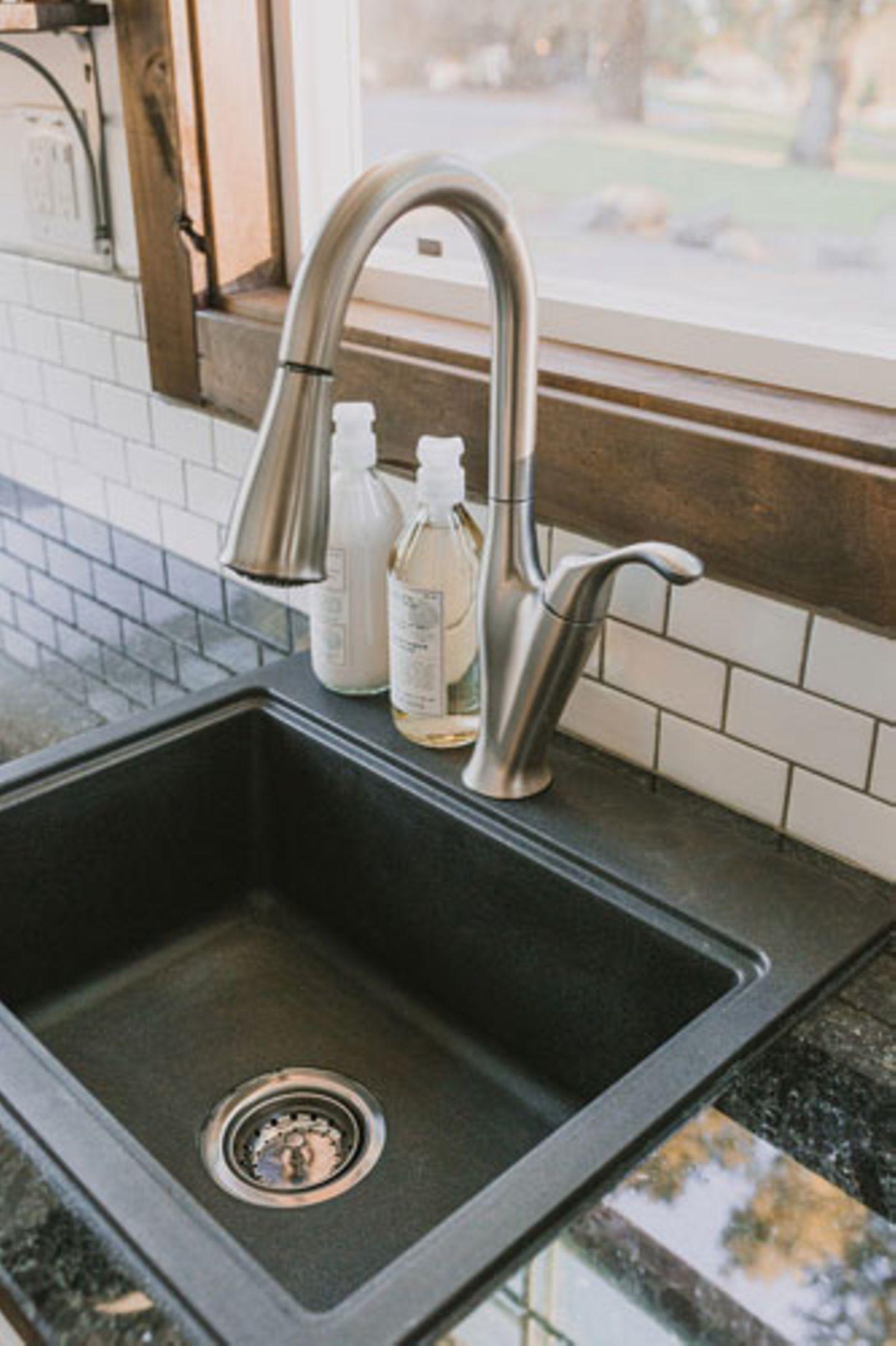 Waschbecken in der Küche
