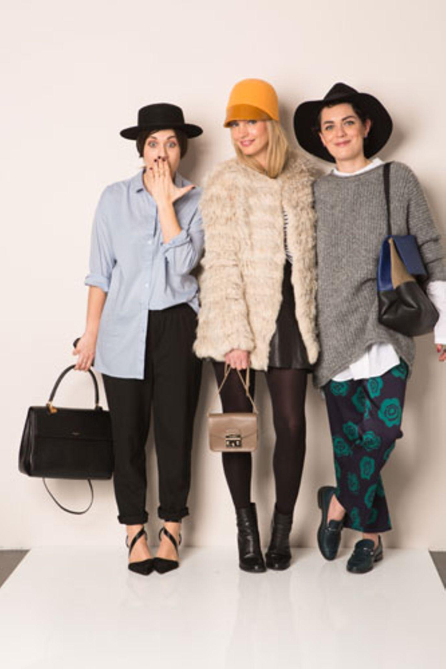 Anlässlich der Fashion Week Berlin lud Brands4Friends drei deutsche Modebloggerinnen ein, ihre Lieblings-Outfits für die Frühjahr/Sommer-Saison 2015 zu stylen. Außerdem stellten die drei Bloggerinnen einen Trend-Look zusammen, den Sie hier gewinnen können.