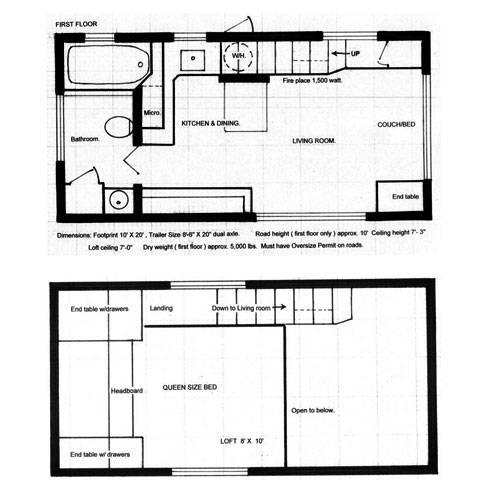 wohnen kleines haus mit viel platz 26 quadratmeter gl ck. Black Bedroom Furniture Sets. Home Design Ideas