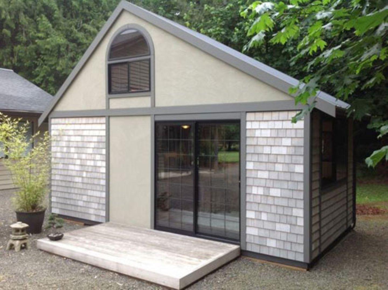 Kleines Haus von außen