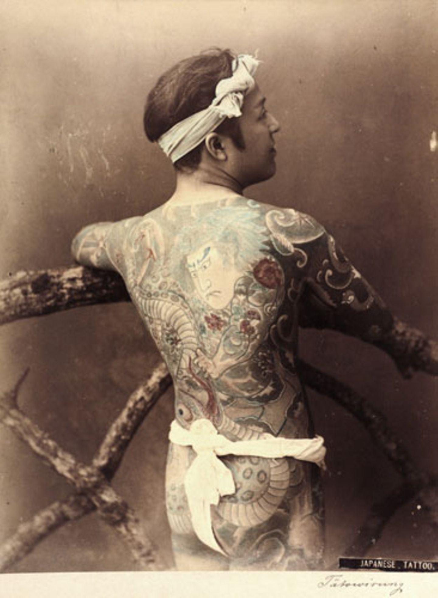 Japanese Tattoo, 1880-1890