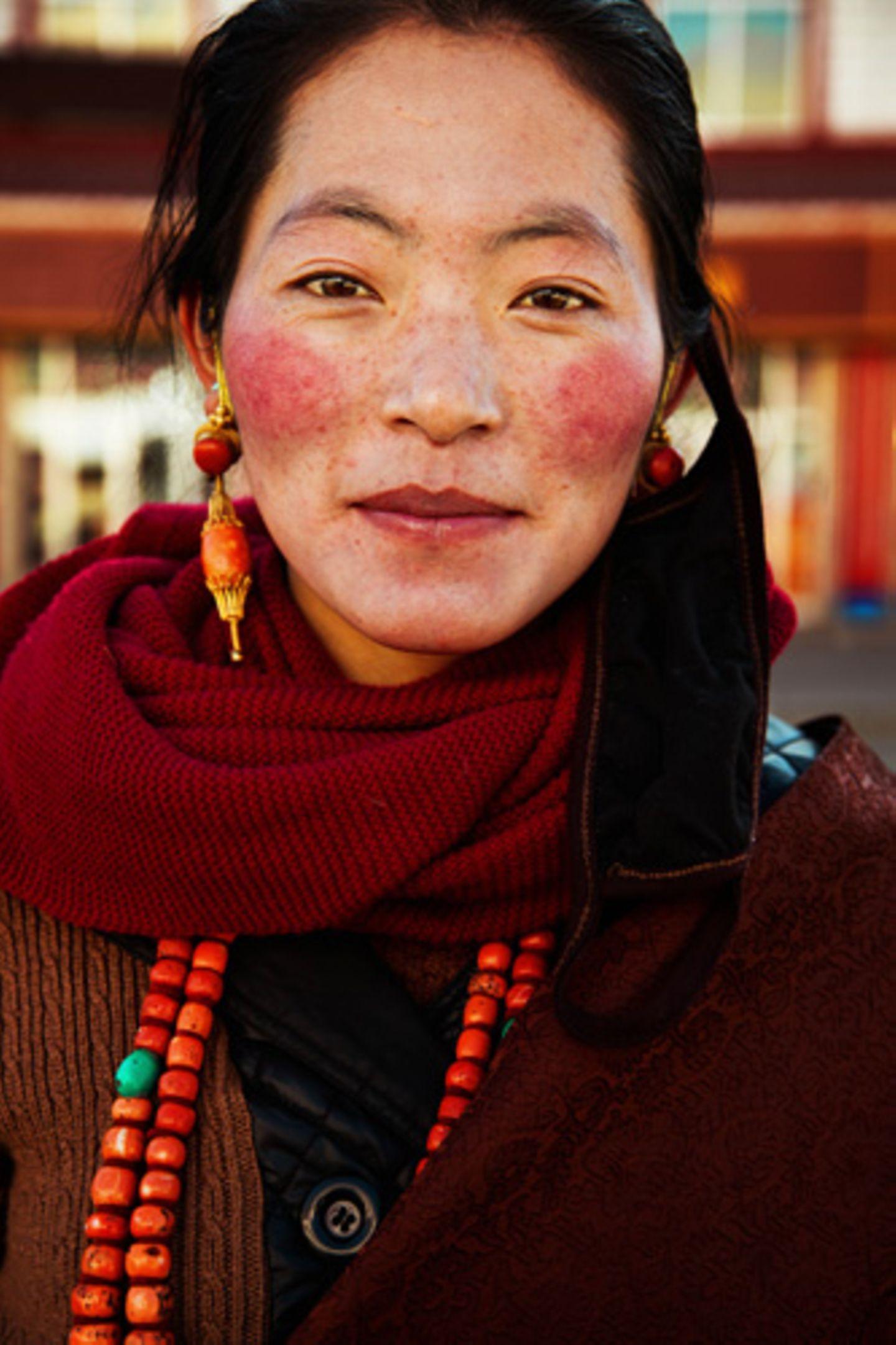 Tibetische Hochebene, China