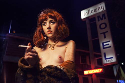 """Aus der Fotoreihe """"100 Naked Women"""": """"Motel"""""""