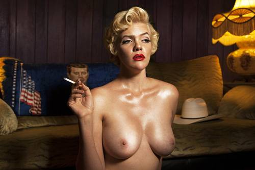 "Aus der Fotoreihe ""100 Naked Women"": ""Marylin"""
