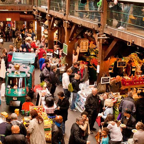 "Highlights in Hamburg: 9. Leckeres bei der ""Marktzeit"""