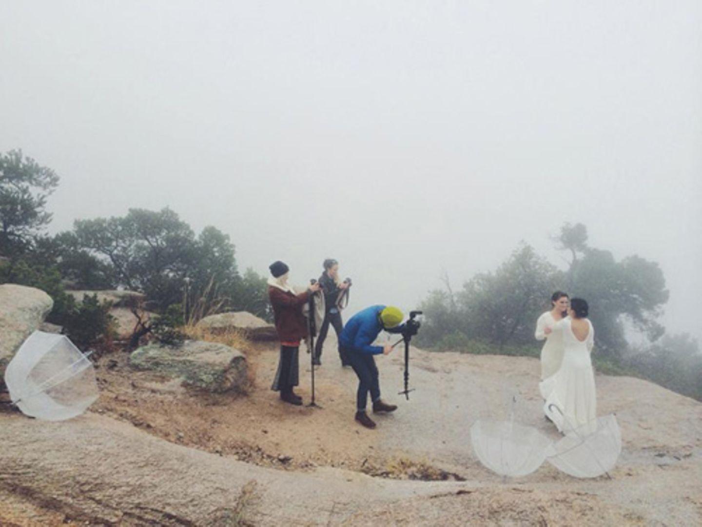 So schön sind die Hochzeitsfotos von diesem Brautpaar