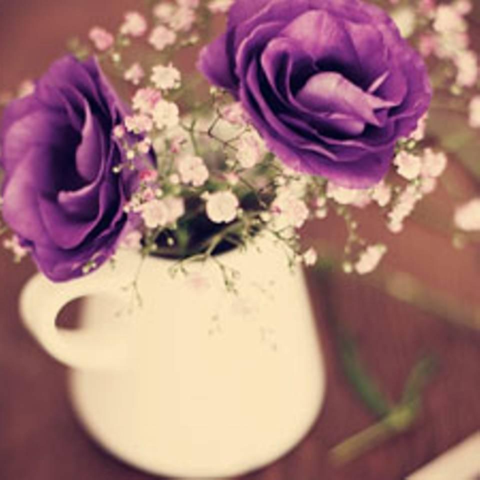 Blumenpflege: So bleiben Ihre Sträuße frisch!