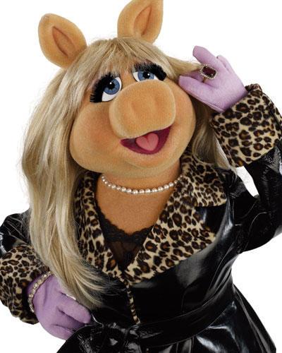 Miss Piggy Leder-Leo-Look